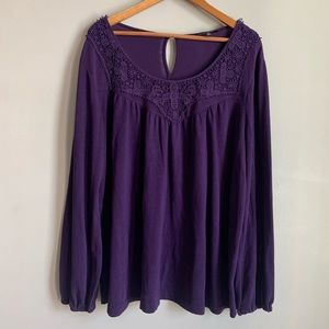 Suzanne Betro Embroided Sweater size 3X